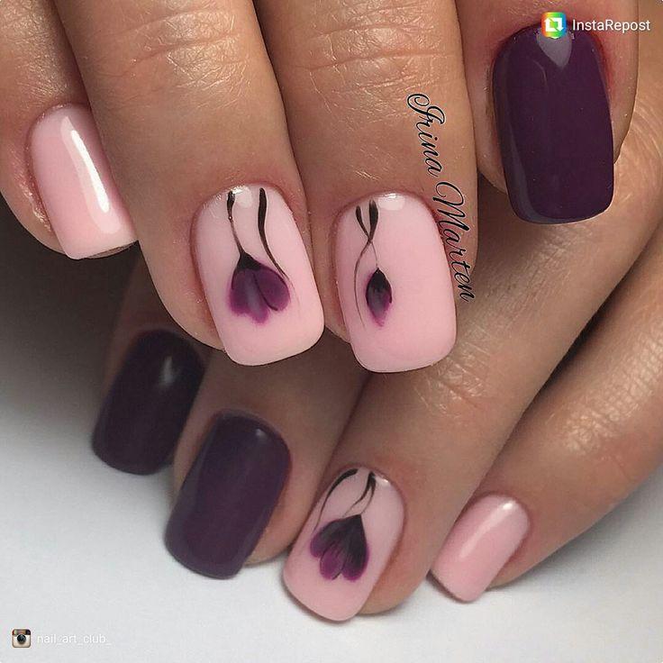 beautiful flower nails ideas