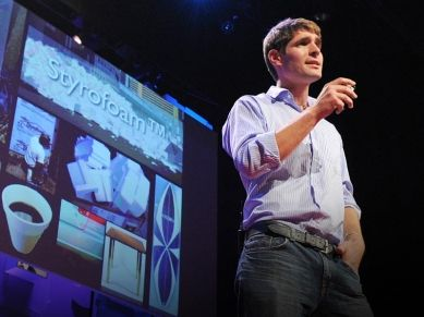 Eben Bayer is the co-founder and CEO of #Ecovative Design. #TED #sustainability