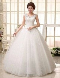 Sexy Wedding Dress Ball Gown Bridal Gown Floor-Length Sleeveless Scoop Neckline Organza Bridal Dres