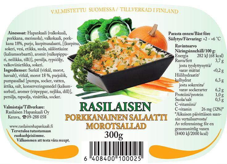rasilaisen porkkanainen salaatti kuva lainattu www.rasilainen.fi
