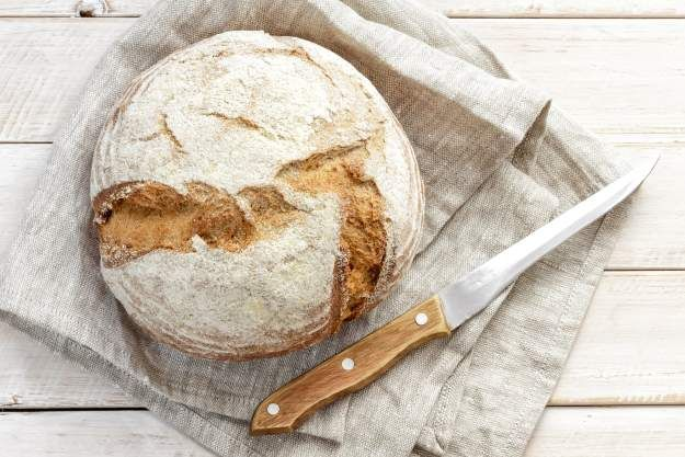 Sourdough Bread in a dutch oven | 13 Dutch Oven Recipes For Cooking Outdoors