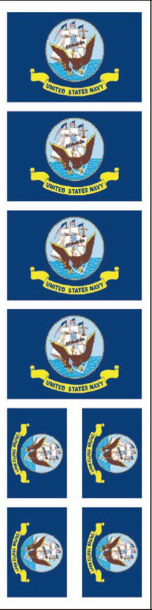 40 Tattoos: Us Navy Flag, Party Favors
