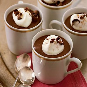 Mini–Mochaccino Puddings