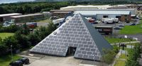 "Scottish solar pyramid nominated for Solar Power Portal Award - ""A striking solar power system installed on to a pyramid-shaped office building in Scotland, U.K., has been shortlisted in the Solar Power Portal Award under the category ""Most Innovative System Design."""