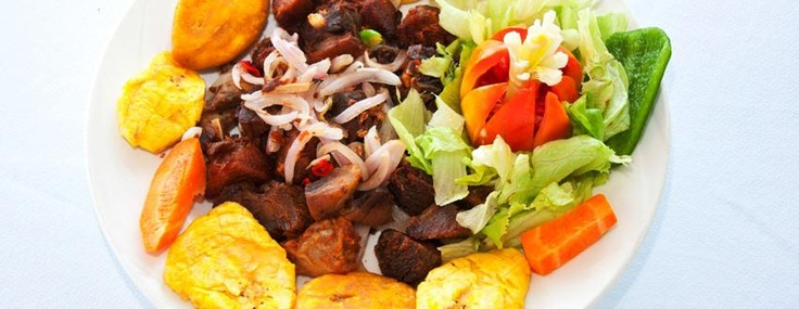 griot and plantains | Haitian food | Pinterest | Bays and ...