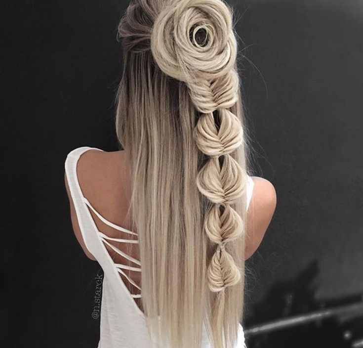 Having Long Hair Can Give You Many Ways To Style Your Hair You Can Get New Look Everyday By Simply Foll Long Hair Styles Hair Styles Unique Wedding Hairstyles