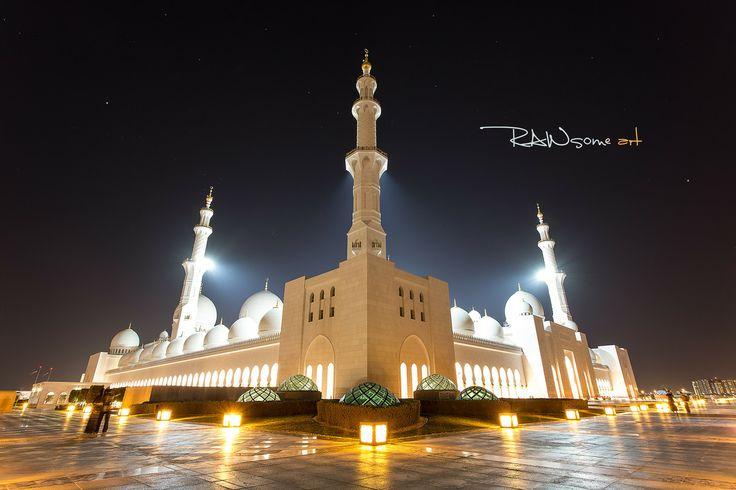 Photo Sheikh Zayed Grand Mosque - Abu Dhabi by RAWsome art  on 500px