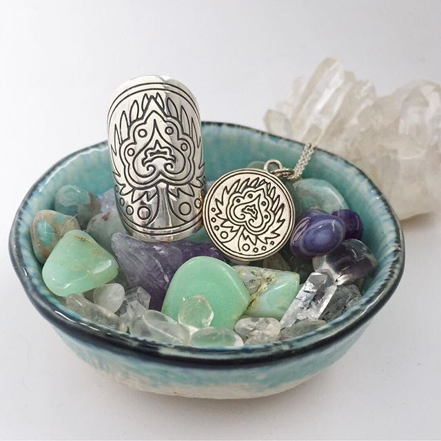 MANTRA: 'BREATHE IN THE LOVE' - on SALE now! This mandala talisman is a physical reminder of your ability to change your reality instantly with just one breath. When we take time to focus and draw our attention purely on breathing, we not only nourish our