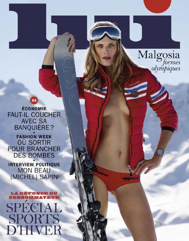 Malgosia Bela by Mark Segal for Lui Magazine February 2014