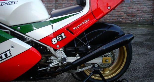 """1988 Ducati 851 - 851 """" kit """" competizione"""