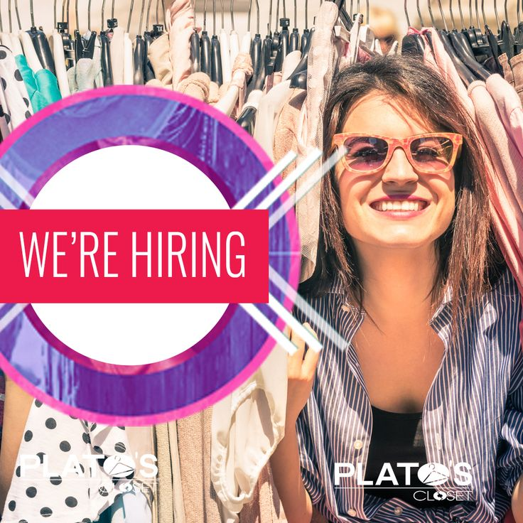 Think you have what it takes to join our incredible team? #PlatosClosetBarrhaven is looking for friendly, energetic fashionistas to work days, nights & weekends! If this sounds like you, send your resume to stacey@stylereboot.ca! | www.platosclosetbarrhaven.com