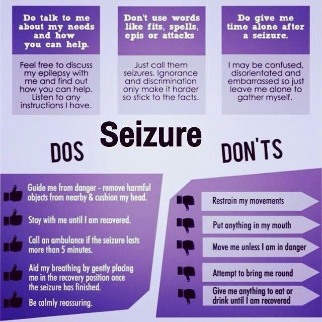 the dos and donts of seizure response seizure