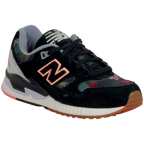 New Balance Women's 530 Floral Ink Low-Top Sneaker   Sneakers, New ...
