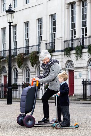 The Scooter for Life in action. New Old review – everything you need for a techno-utopian retirement.