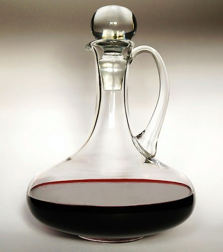 Solavia Glass Handmade Mouthblown Decanter/Carafe 1.5l Perfect for your home | eBay
