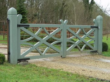 Britannia Joinery...this gate has a really pretty design.
