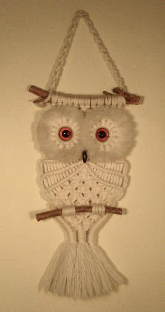 It's My ... Macramé Owl | It's my cake