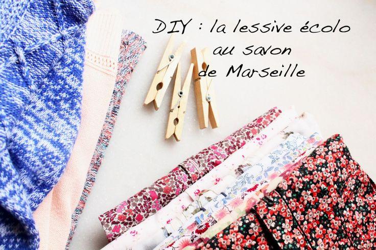 La lessive écolo au savon de Marseille - Green me up