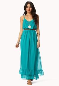 Dresses | Shop Mini, Knee Length, Long Dresses at Forever 21: Dress Shops, Forever 21, Boho Chic, Dress Brw, Knit Dress, Dress Belts, Flounced Racerback, Forever21