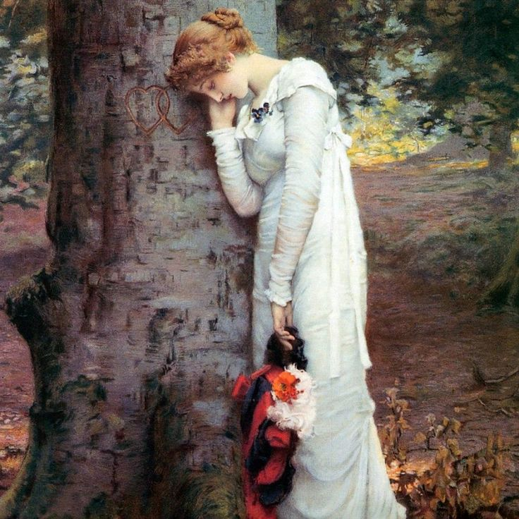 Marcus Stone Love's daydream end, 1880