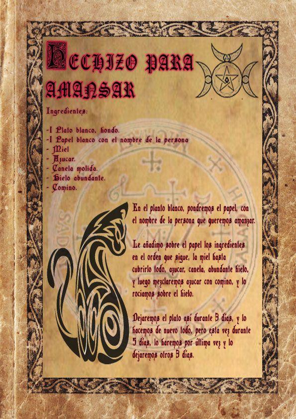 17 mejores ideas sobre hechizos de brujer a en pinterest - Ritual de buena suerte ...