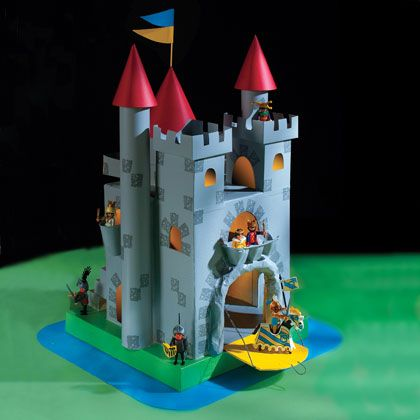 Crafts: The Great Cardboard Castle | Crafts | Spoonful