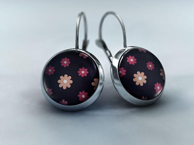 Ohrhänger - Blütenzauber Nachtschatten von Schmuckkauz auf DaWanda.com