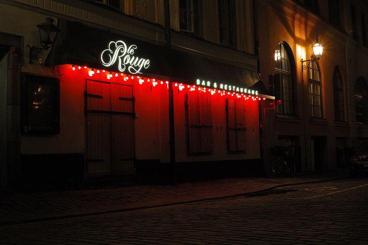 Le Rouge Stockholm Stockholms Skyltpris 2016 Stockholm Sign of the Year Award restaurant signage