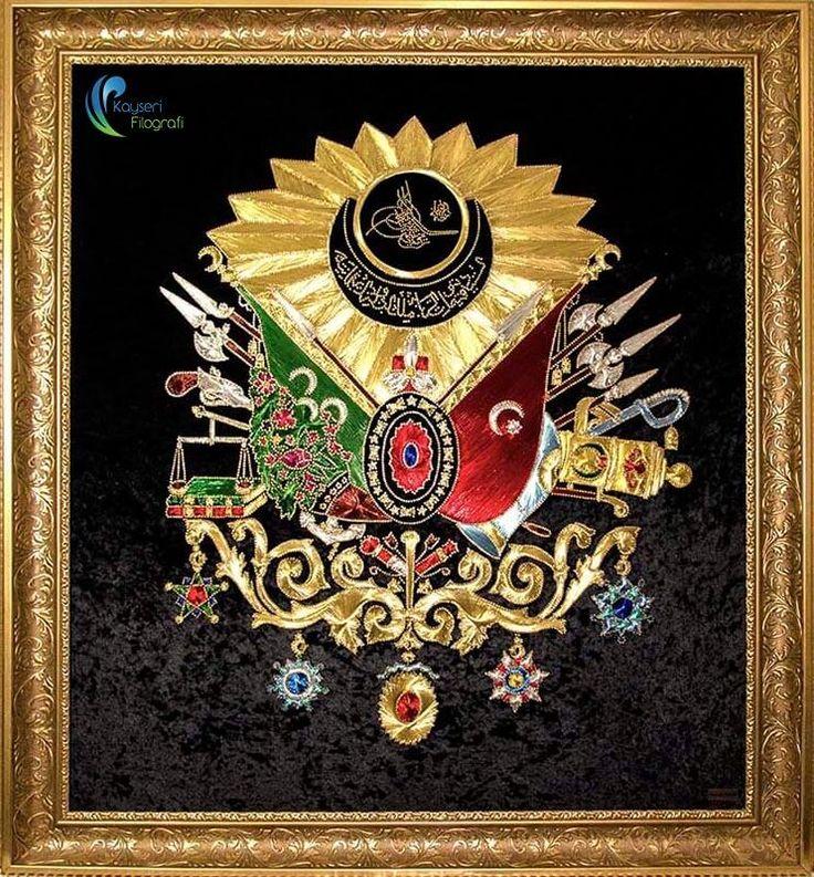 Osmanlı Devlet Arması   Kayseri Filografi – Fundagül DİLBAZ