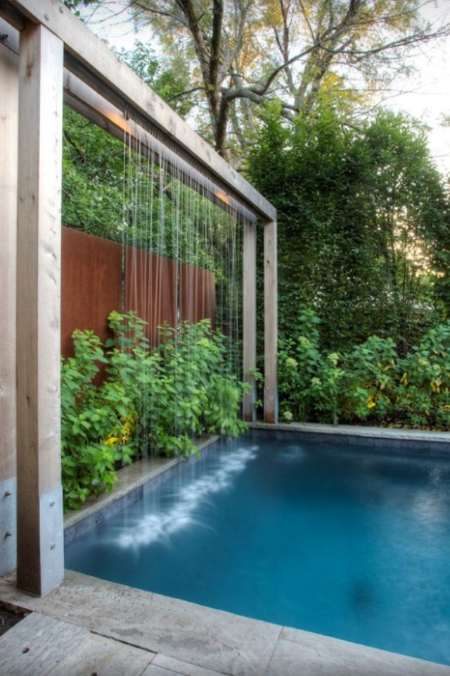 11 falling water features guaranteed to give your house a sophisticated look indoor waterfallpool