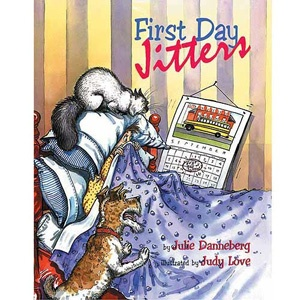 First Day Jitters by Julie Danneberg.. I always read this on the first day.