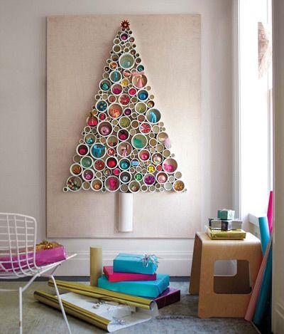 desain pohon natal dari pipa paralon