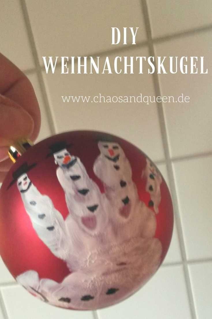Weihnachtskugeln Diy Weihnachten Personliche Weihnachtsgeschenke