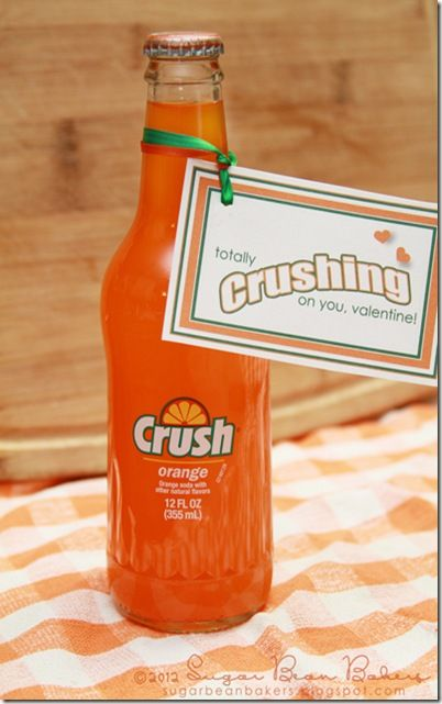 Free CRUSH printables for Valentine's Day