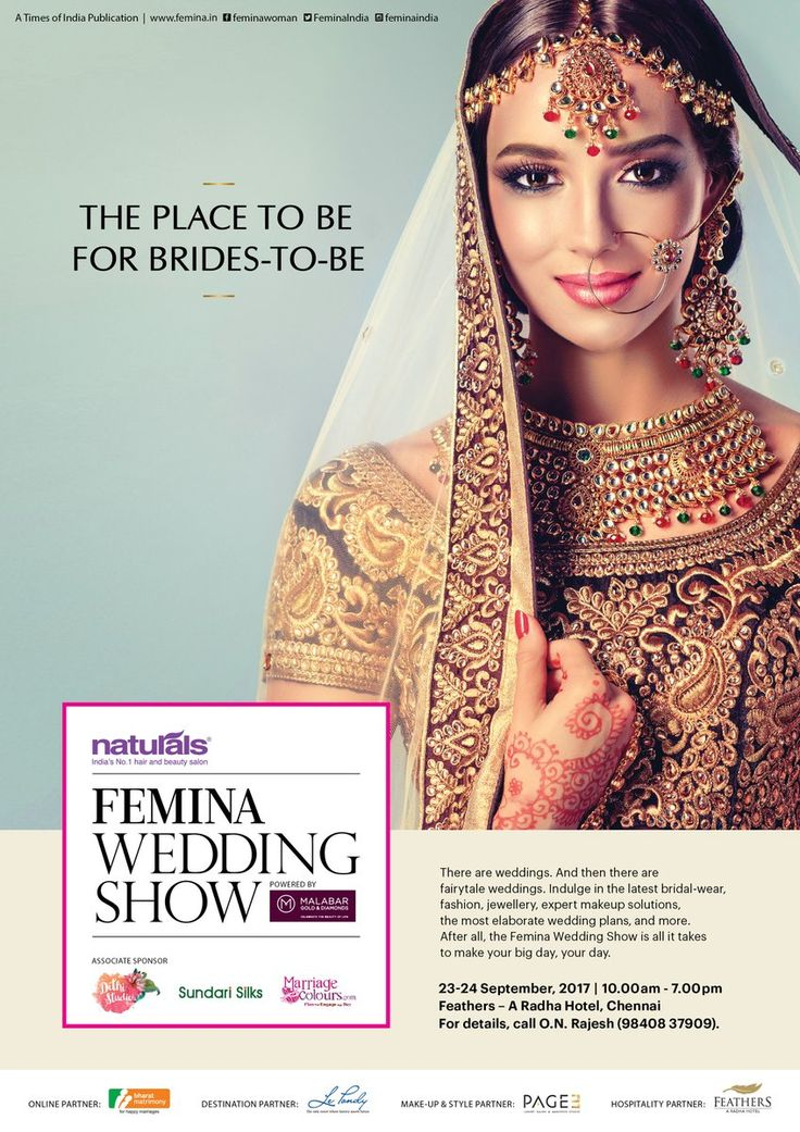 From bridal wear to makeup & planning, the Femina Wedding Show is here to ensure your big day is nothing short of a fairy tale.