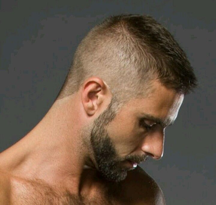 facial hair looks  good with this style. definate plus