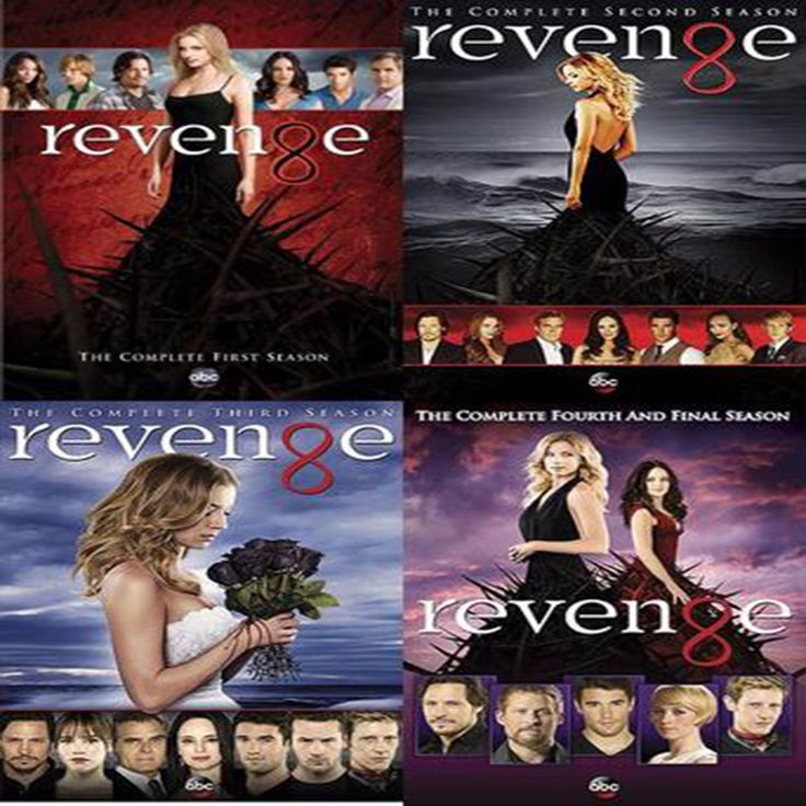 Revenge Seasons 1-4 Set on DVD
