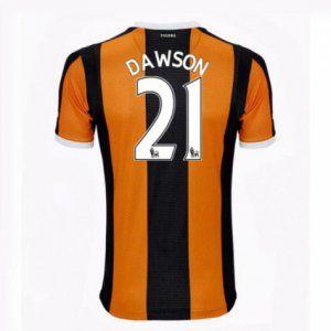 16-17 Hull City FC Cheap Home Dawson #21 Replica Football Shirt [I00336]