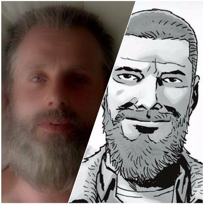 S8 End Of Trailer Rick Versus After All Out War Comic Rick