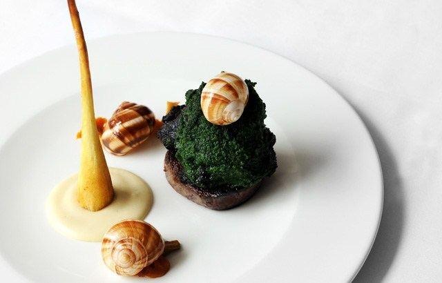 Beef Cheek, Beef Fillet, Snails, Parsnip Recipe
