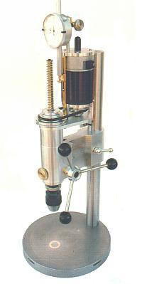 """Precision Mini Drill Press Plans - 1/4"""" drill capacity"""