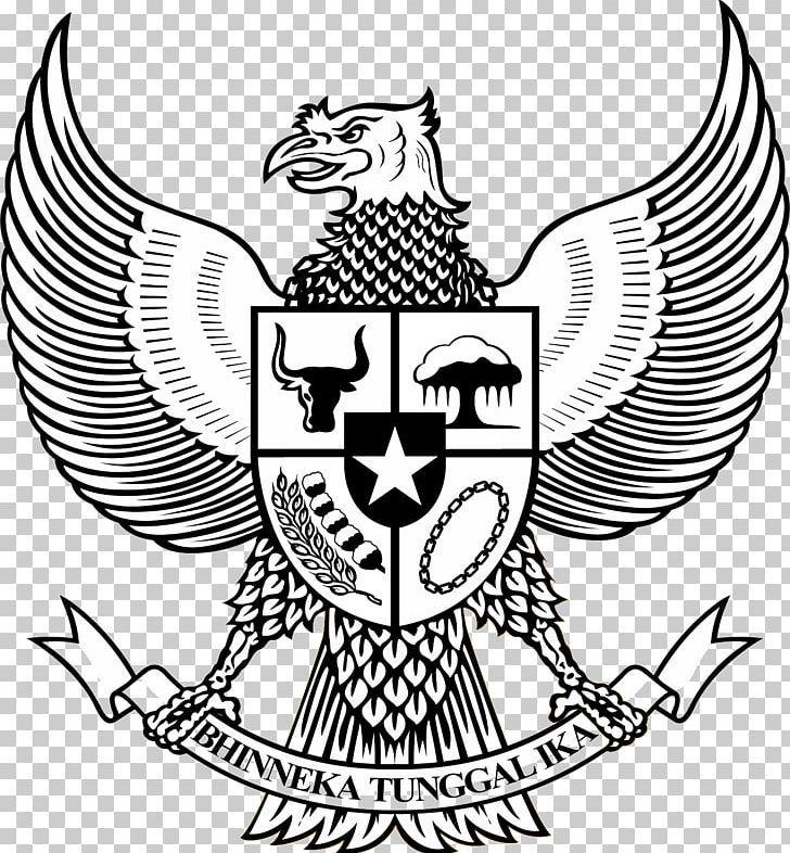 National Emblem Of Indonesia Pancasila Garuda Symbol Png Clipart Art Artwork Black And White Coat Of Arms Emblem Free In 2020 Emblems Cute Love Gif Coat Of Arms