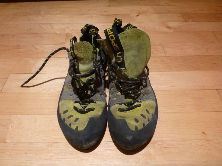 Seeking Exposure - Rock Climbing - Rock Climbing Shoes - Tarantulace used