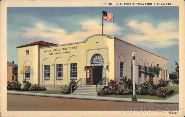 Fort Pierce FL U. S. Post Office