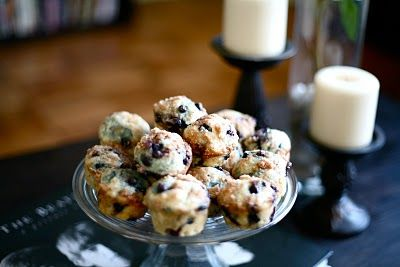 Buttermilk MINI Blueberry Muffins | Mini Desserts | Pinterest