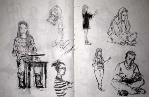 part of my sketchbook