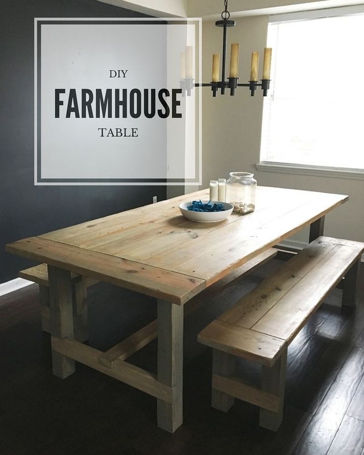 Top 25 best Diy farmhouse table ideas on Pinterest Farmhouse