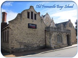The Old Boys School - A History of Fremantle, Western Australia from 1829 to WWII (1945)