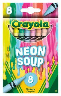 The Crayon Blog: Walmart's new Crayola set: Crayola Meltdown