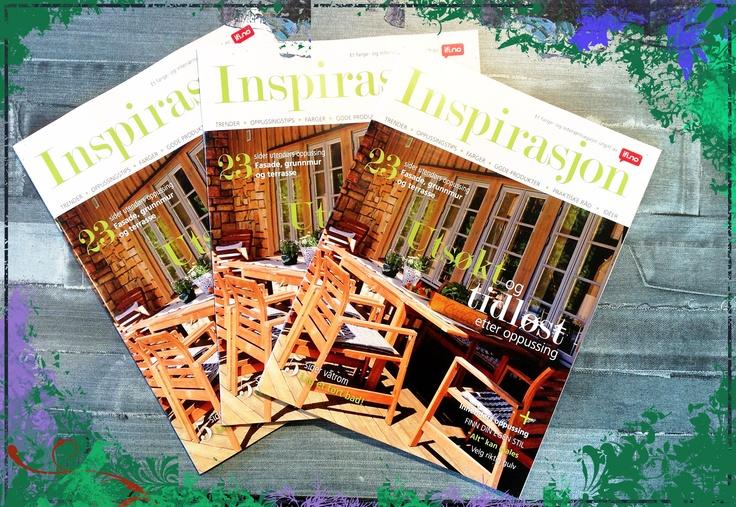 Se etter Inspirasjon neste gang du er på fargehandelen eller besøker et byggvarehus!